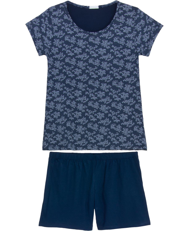 11c2eec0d Shortdoll Homewear Viscolycra Floral Poá - Pijama Online