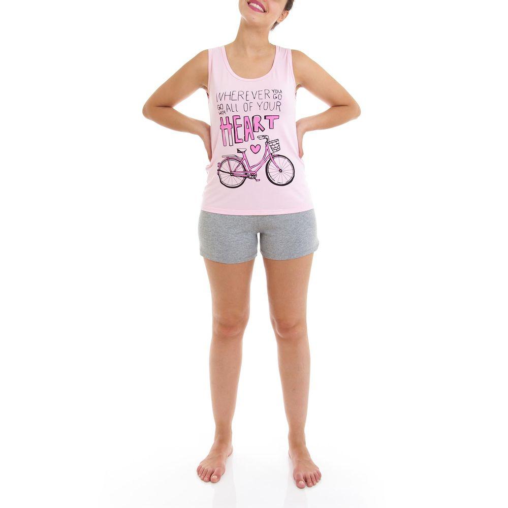 Shortdoll-Homewear-Regata-Viscolycra-Bicicleta