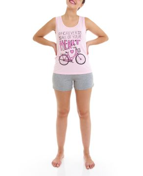 Shortdoll-Homewear-Regata-Viscolycra-Bicicleta
