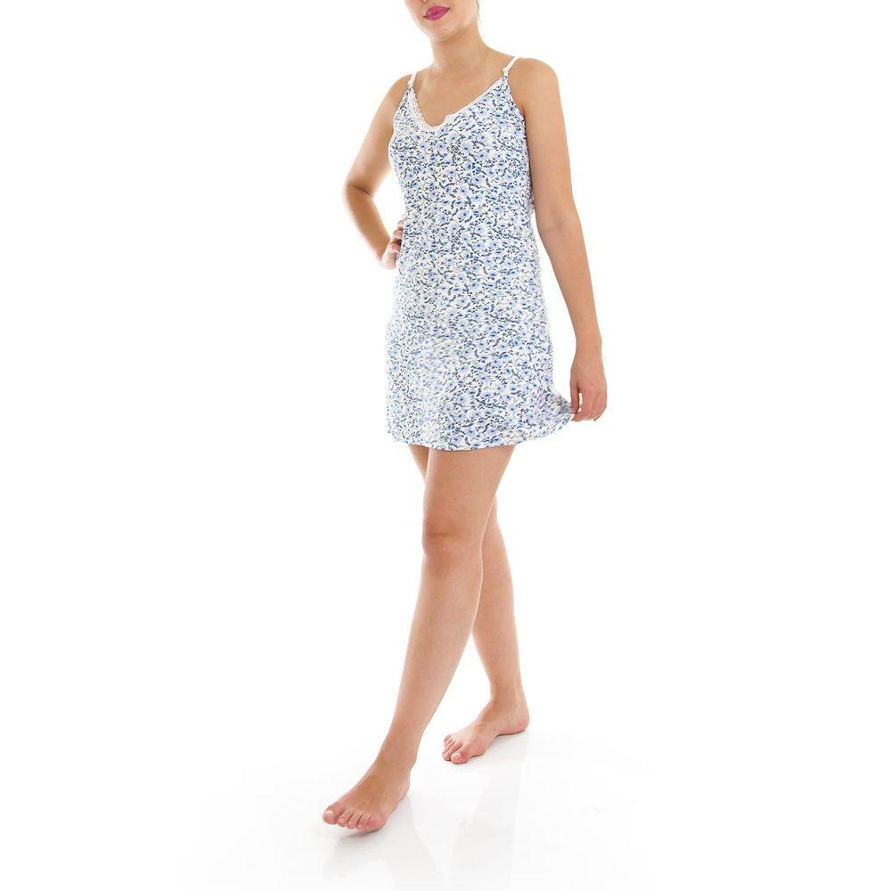 Camisola-Homewear-Alca-Viscolycra-Floral