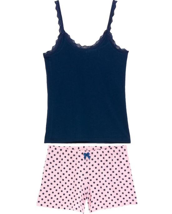 Shortdoll-Homewear-Viscolycra-Alca-Renda-Poa