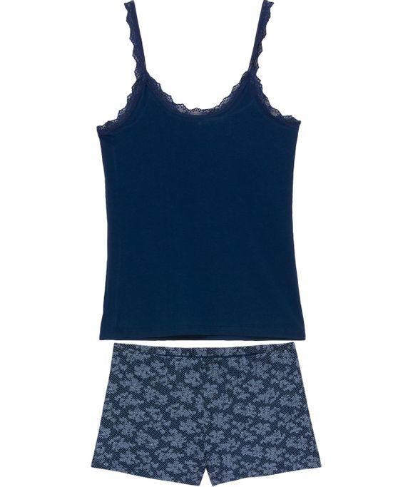 Shortdoll-Homewear-Viscolycra-Alca-Renda-Floral
