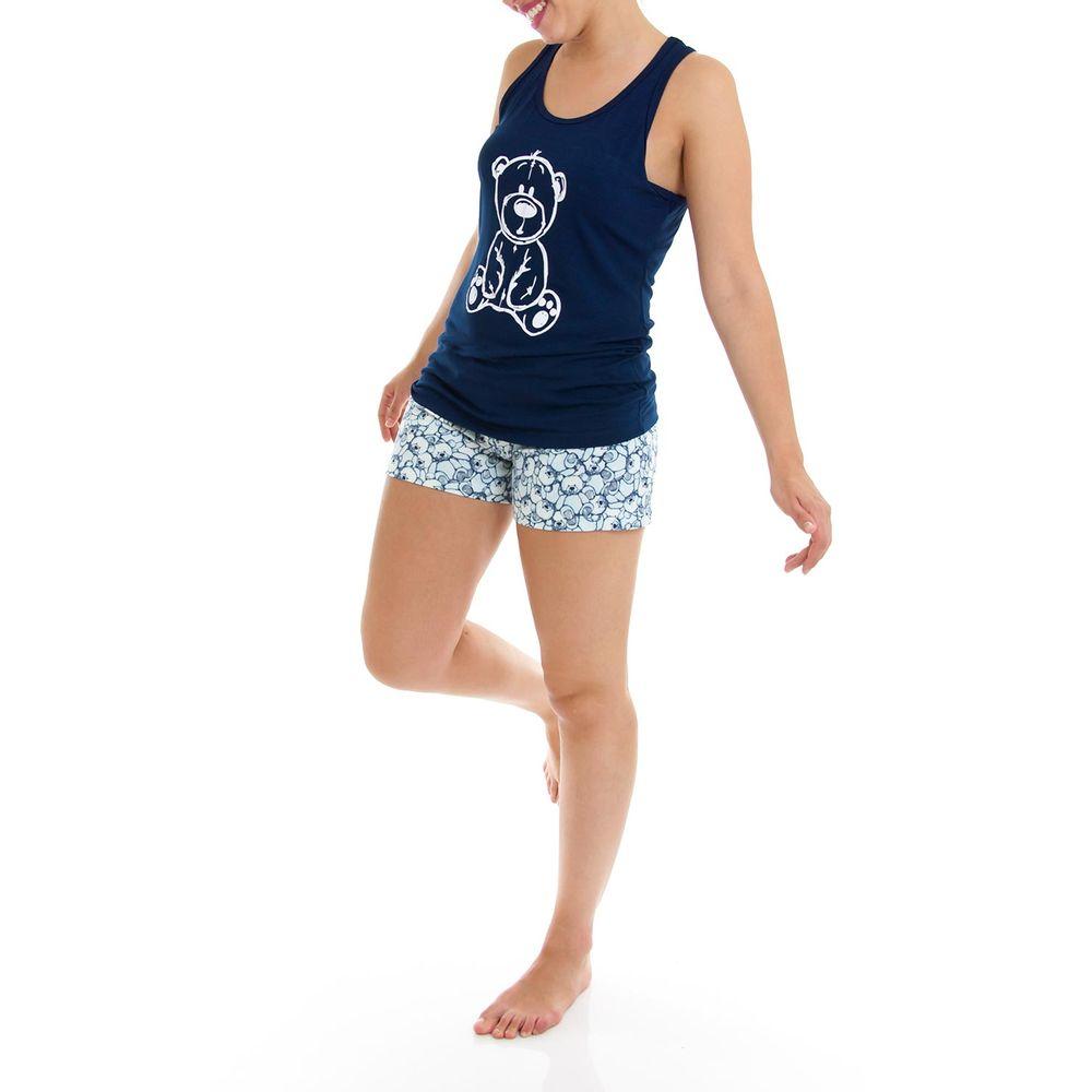 Shortdoll-Homewear-Regata-Nadador-Viscolycra-Urso