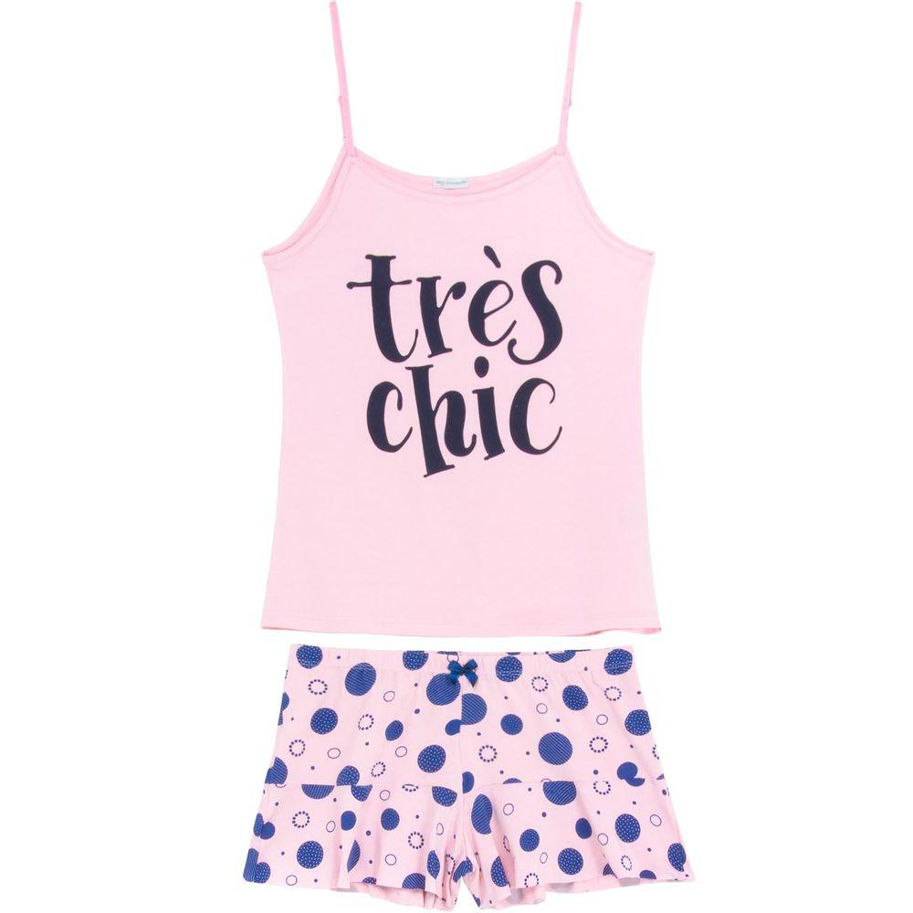 Shortdoll-Homewear-Alca-Viscolycra-Tres-Chic