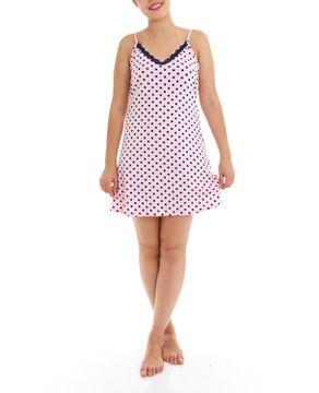 Camisola-Homewear-Alca-Viscolycra-Renda-Poa