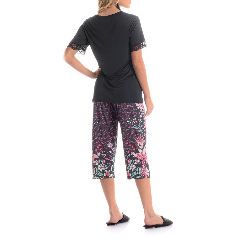 Pijama-Pescador-Daniela-Tombini-Microfibra-Floral