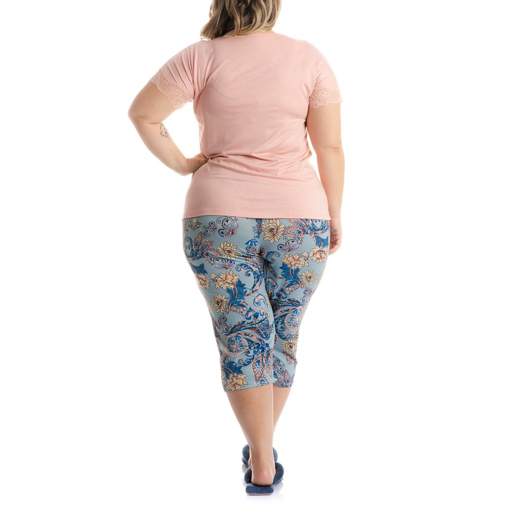 Pijama-Pescador-Plus-Size-Daniela-Tombini-Floral