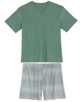 Pijama-Masculino-Recco-Viscolycra-Bermuda-Linhas