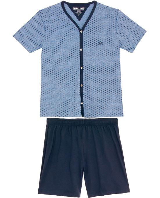 Pijama-Masculino-Laibel-Aberto-Bermuda-Algodao