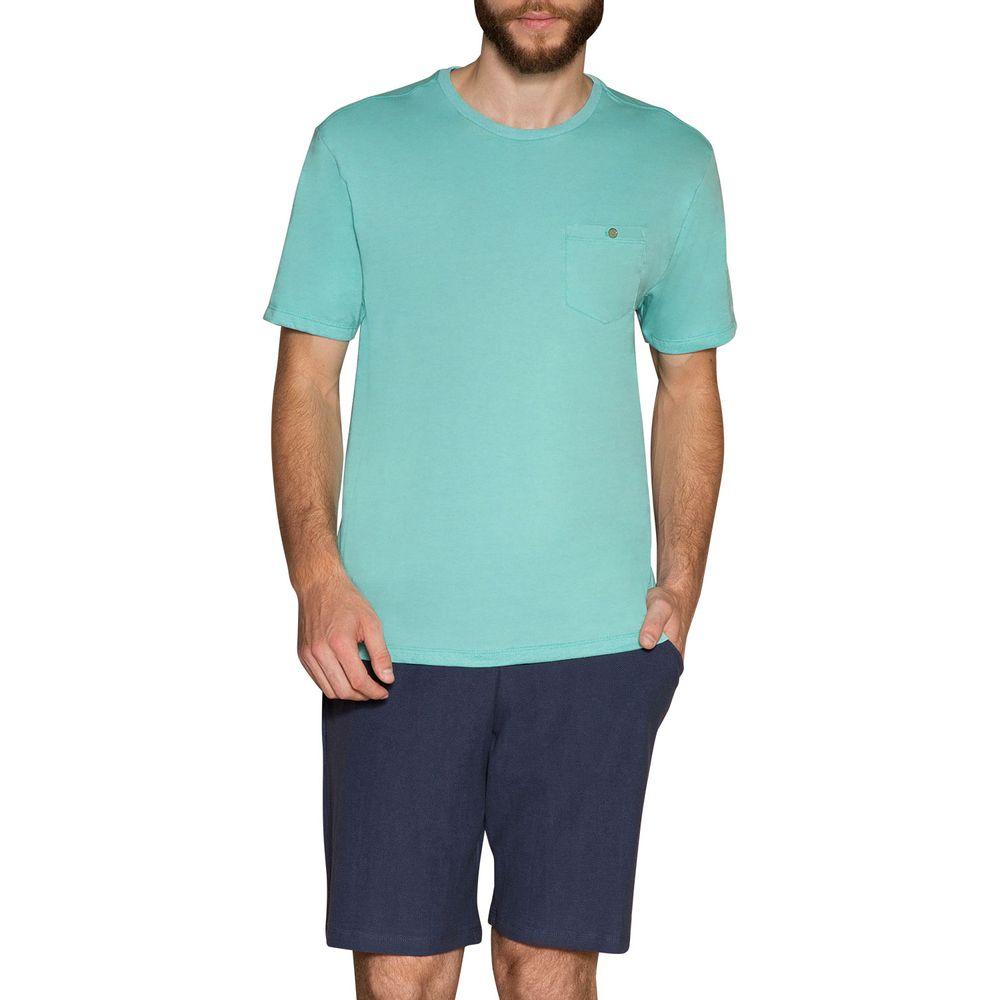 Pijama-Masculino-Laibel-Bolso-Bermuda-Malha-Favo