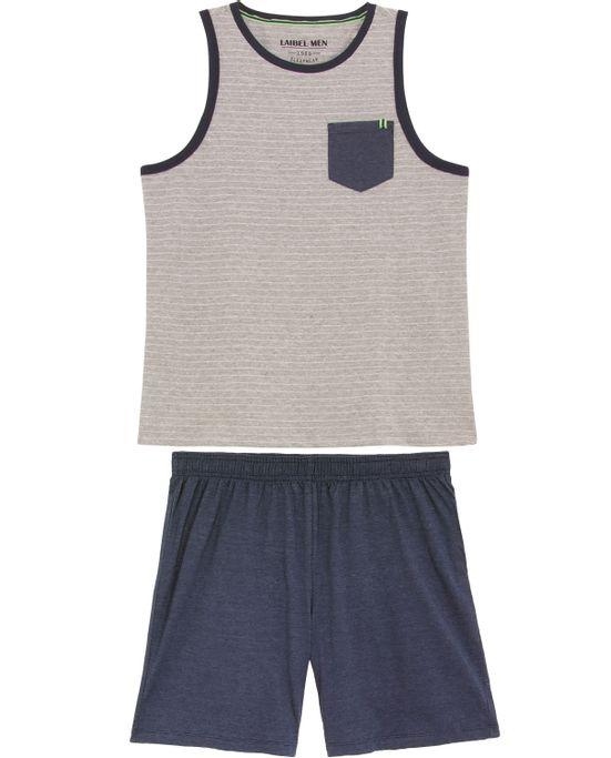 Pijama-Masculino-Laibel-Regata-Algodao-Listras