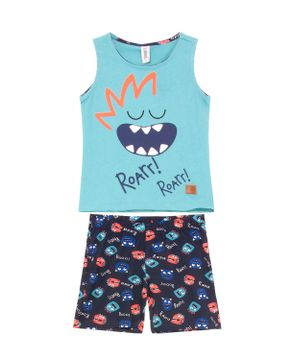 Pijama-Infantil-Masculino-Laibel-Regata-Monstros
