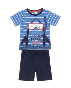 Pijama-Infantil-Masculino-Laibel-Tubarao-Listras