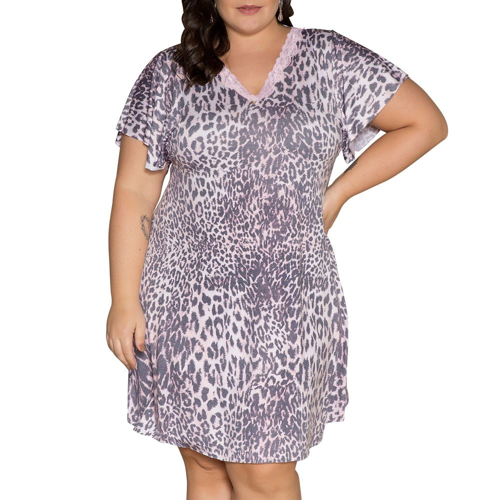 Camisola-Plus-Size-Laibel-Renda-Animal-Print