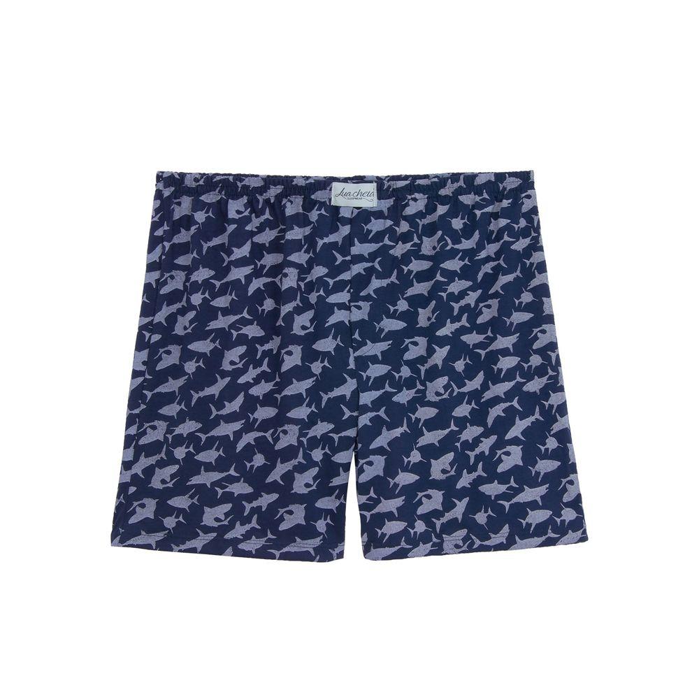 Bermuda-Pijama-Lua-Cheia-Tubarao