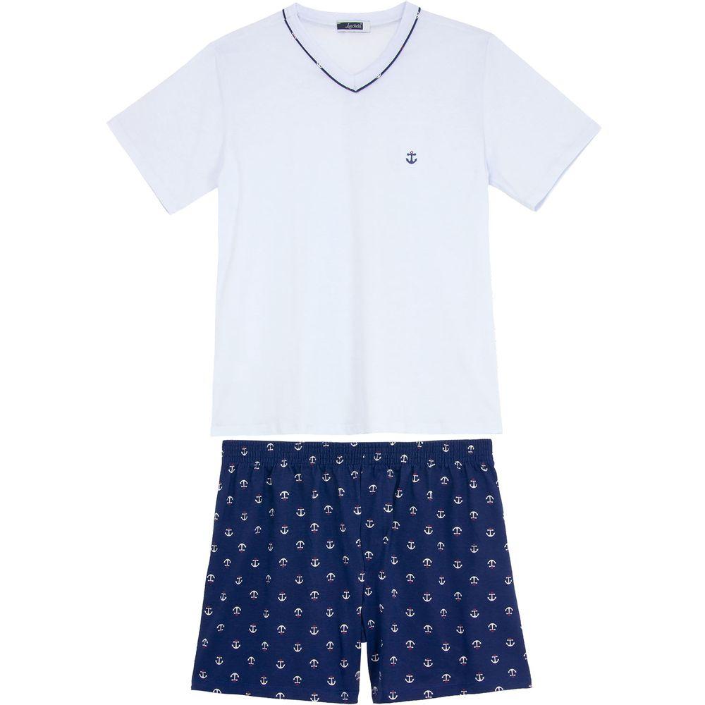 Pijama-Masculino-Lua-Cheia-Algodao-Bermuda-Navy