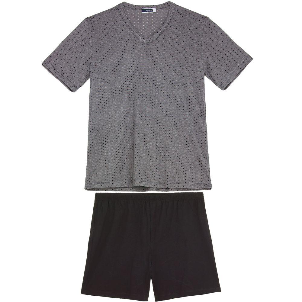 Pijama-Masculino-Lua-Cheia-Curto-Gravataria