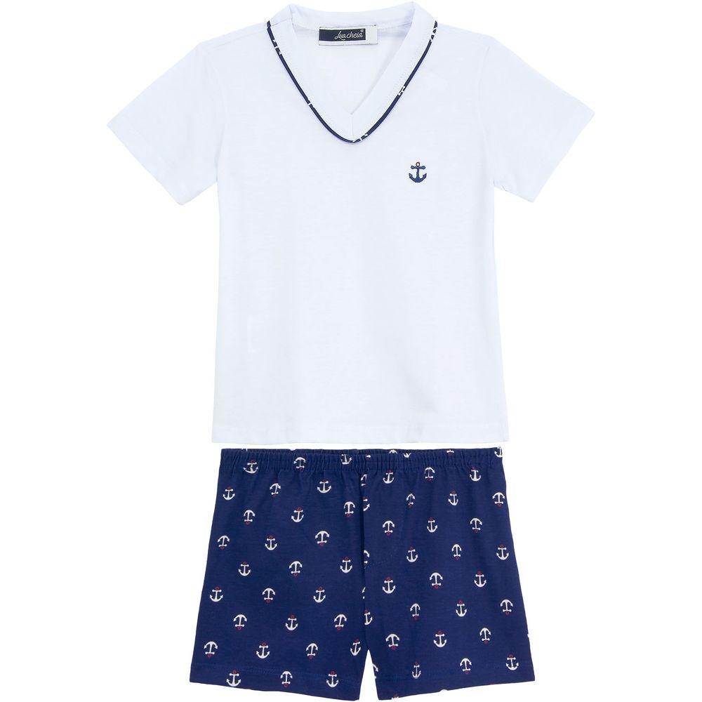 Pijama-Infantil-Masculino-Lua-Cheia-Algodao-Navy