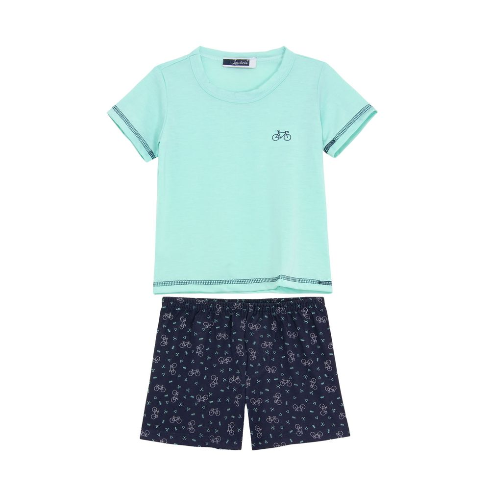 Pijama-Infantil-Masculino-Lua-Cheia-Bermuda-Bicicleta