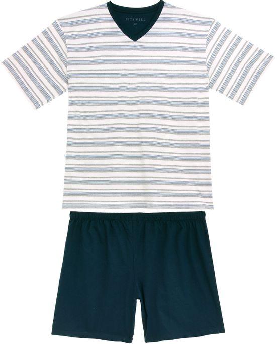 Pijama-Plus-Size-Masculino-Fits-Well-Algodao-Listras