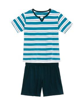 Pijama-Infantil-Masculino-Fits-Well-Algodao-Listras