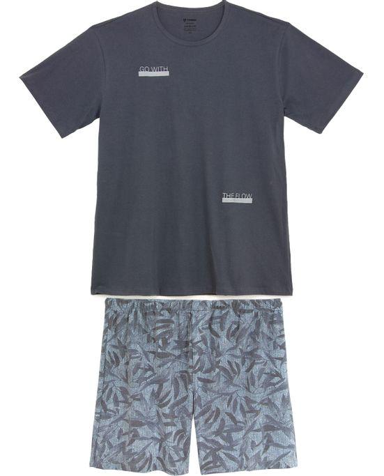 Pijama-Plus-Size-Masculino-Tombini-Algodao-Bermuda