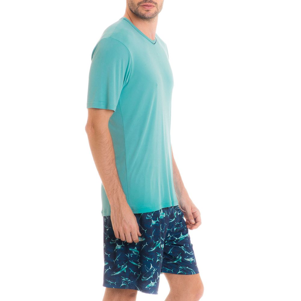Pijama-Masculino-Tombini-Microfibra-Bermuda-Tubarao