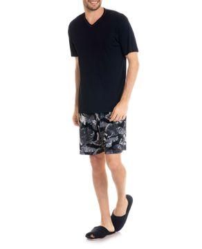 Pijama-Masculino-Tombini-Microfibra-Bermuda-Tropical