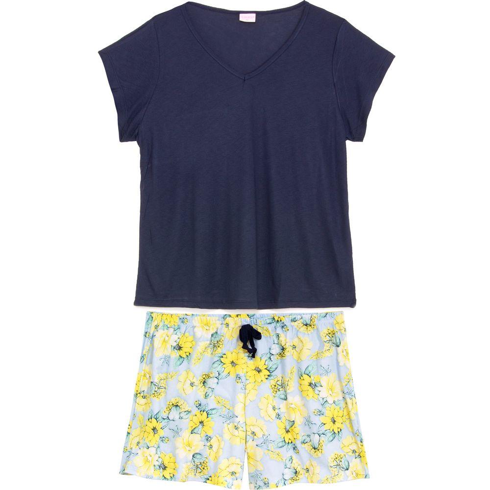 Shortdoll-Plus-Size-Lua-Encantada-Viscose-Floral