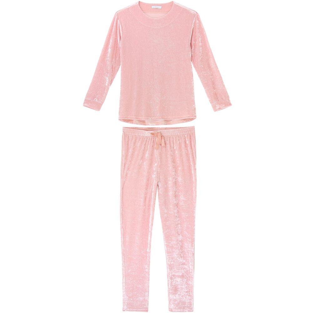 Pijama-Feminino-Daniela-Tombini-Veludo-Molhado
