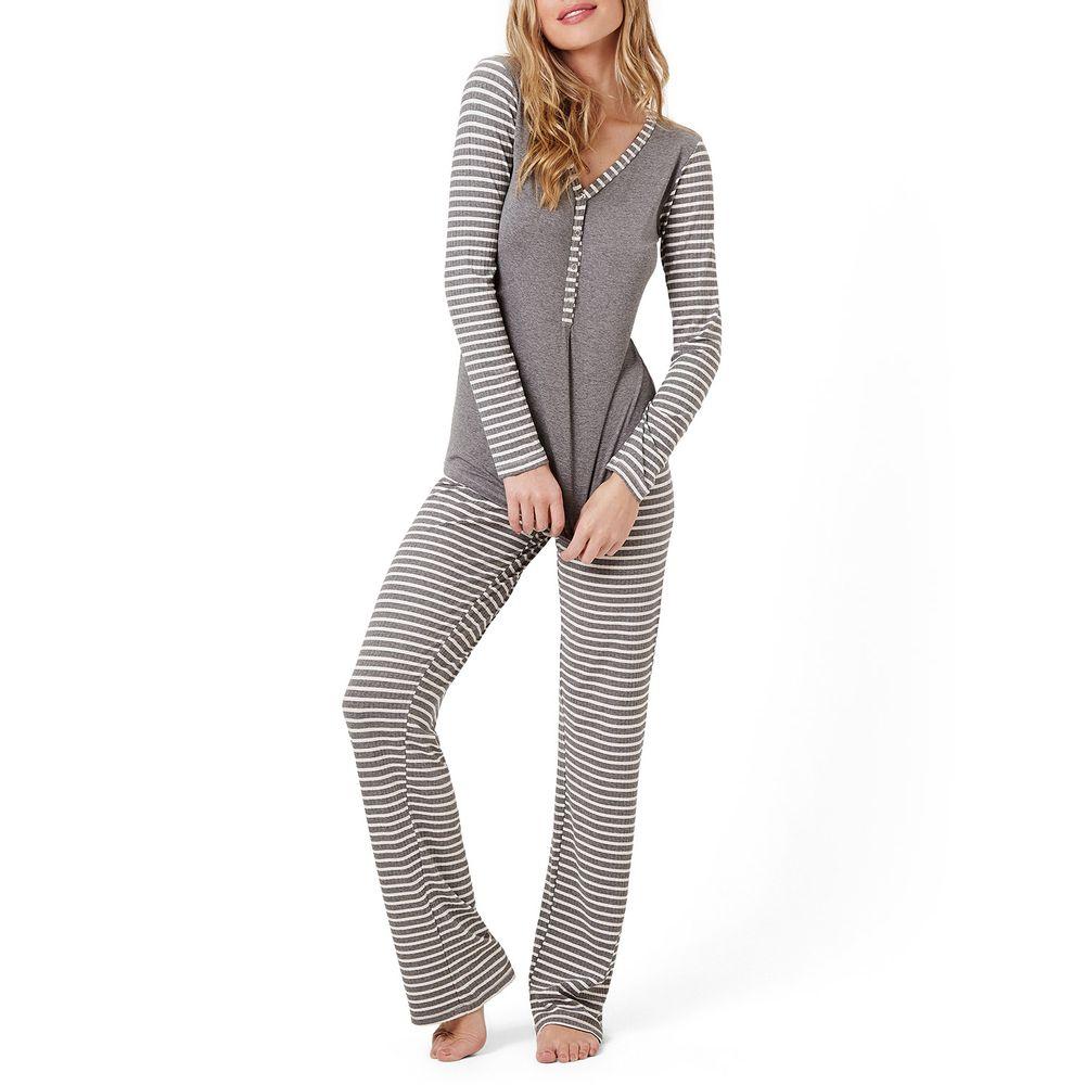 Pijama-Feminino-Joge-Viscolycra-Semi-Aberto-Listras