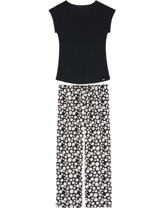 Pijama-Feminino-Recco-Longo-Microfibra-Poa-Brush