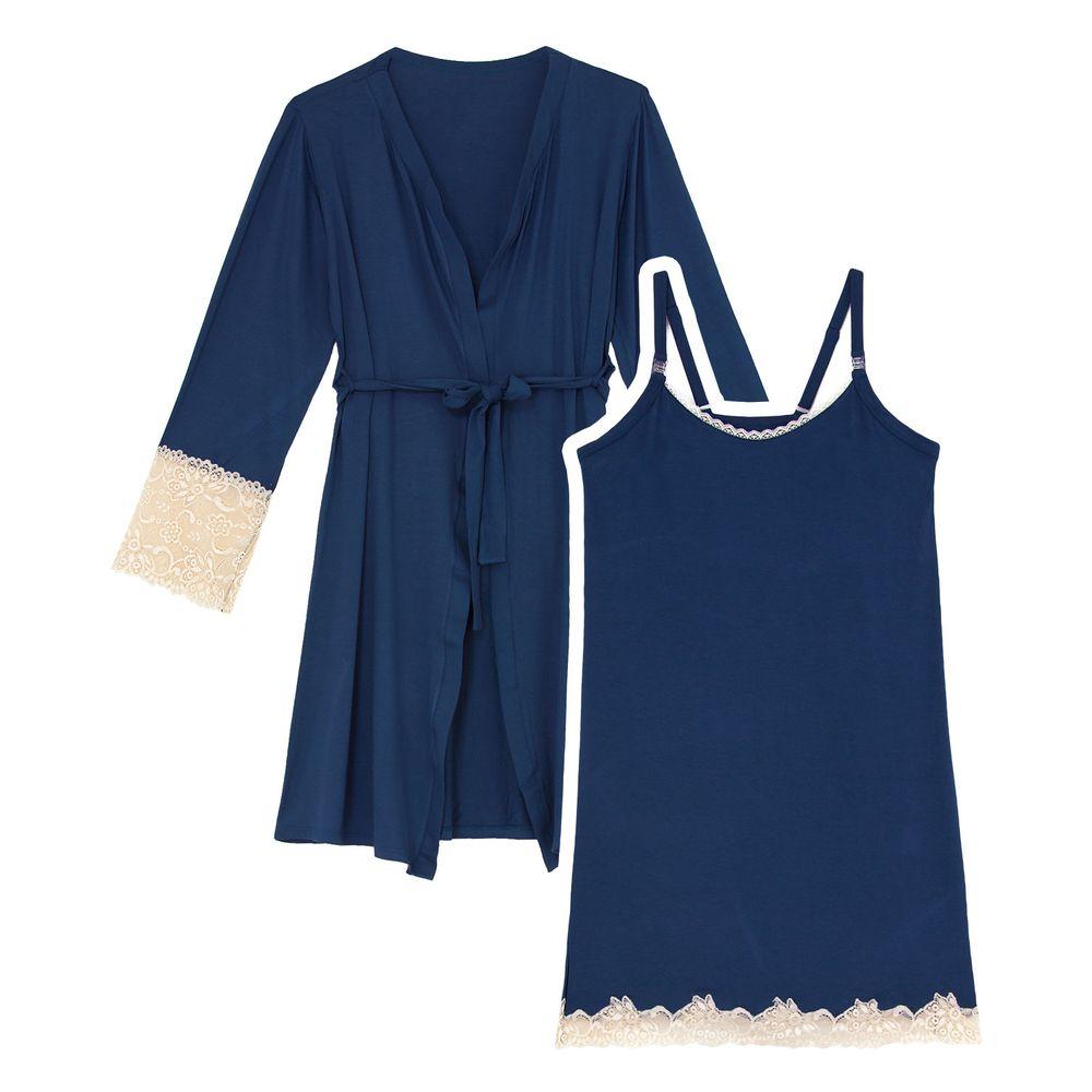 Camisola-Gestante-com-Robe-Recco-Viscolycra-Renda