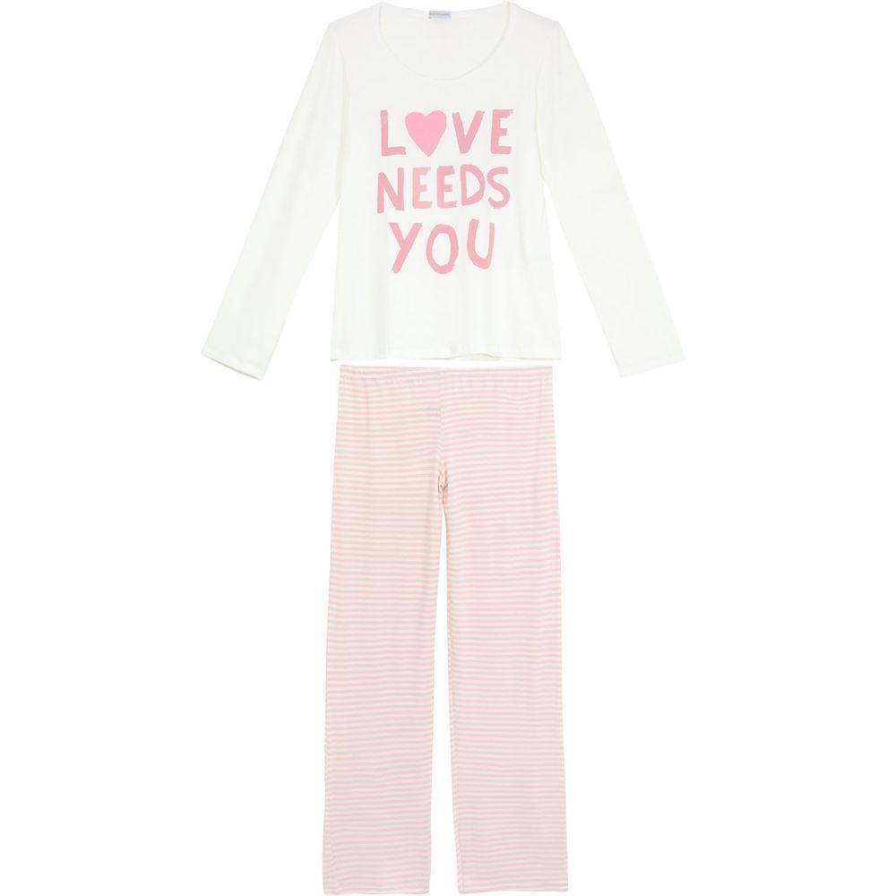 Pijama-Feminino-Homewear-Viscolycra-Calca-Listras