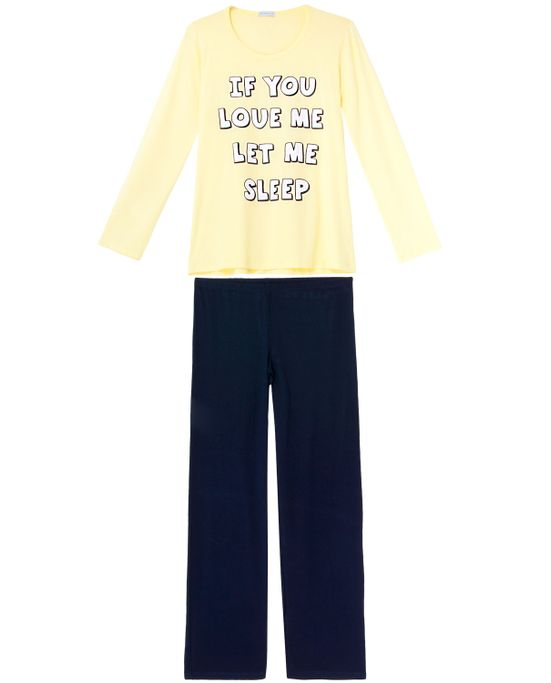 Pijama-Feminino-Homewear-Longo-Viscolycra-Frase