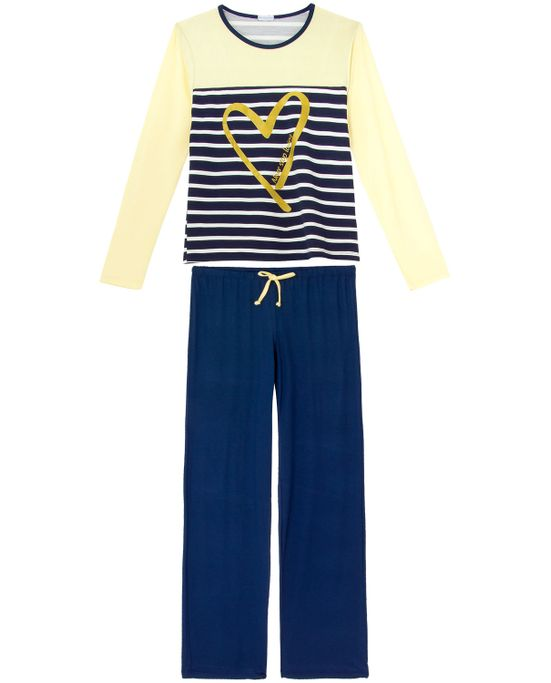 Pijama-Feminino-Homewear-Longo-Viscolycra-Listras