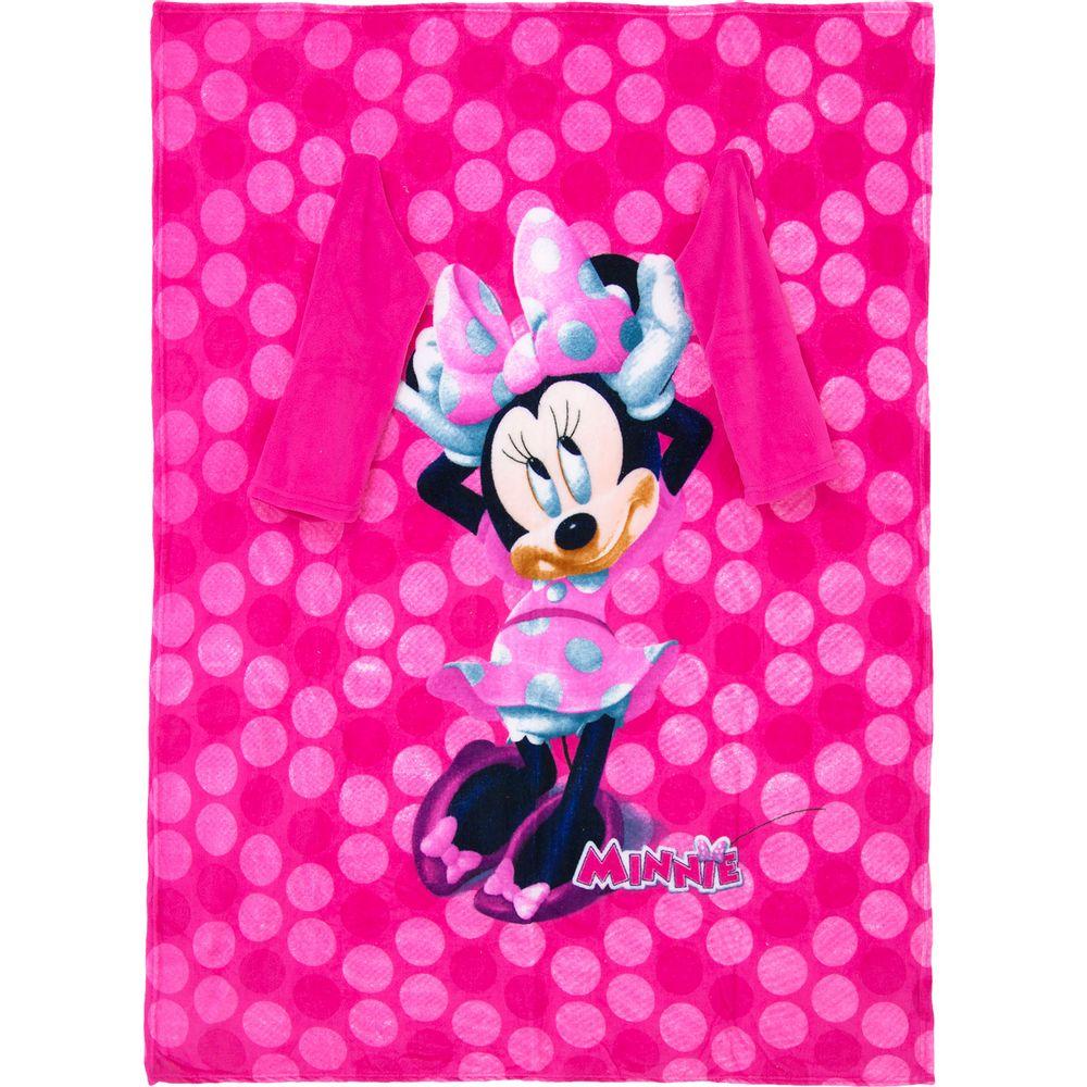 Cobertor-com-Mangas-Minnie-Zona-Criativa