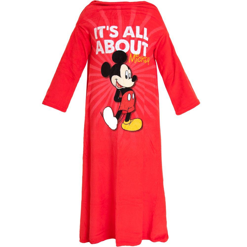 Cobertor-com-Mangas-Mickey-Zona-Criativa