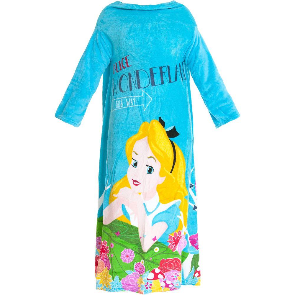 Cobertor-com-Mangas-Alice-Zona-Criativa-Disney