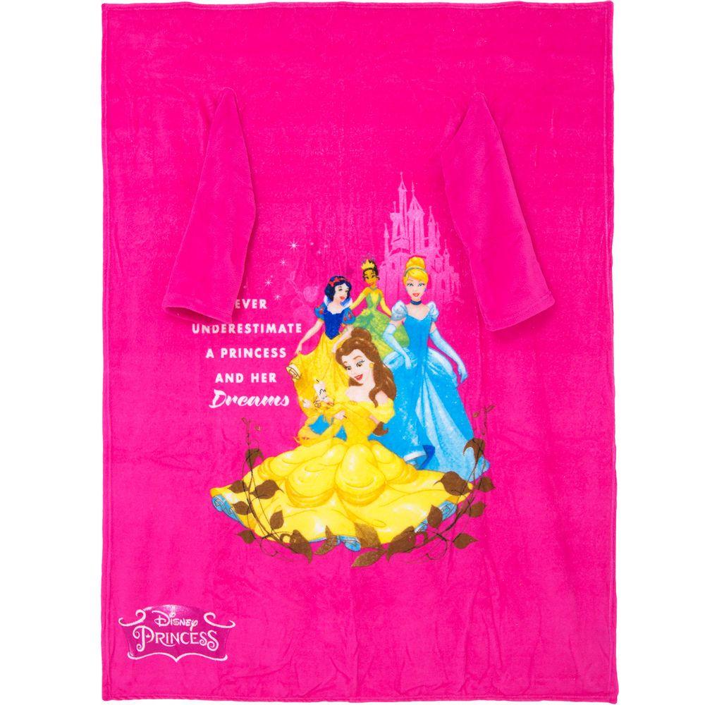 Cobertor-com-Mangas-Princesas-Dinsey-Zona-Criativa