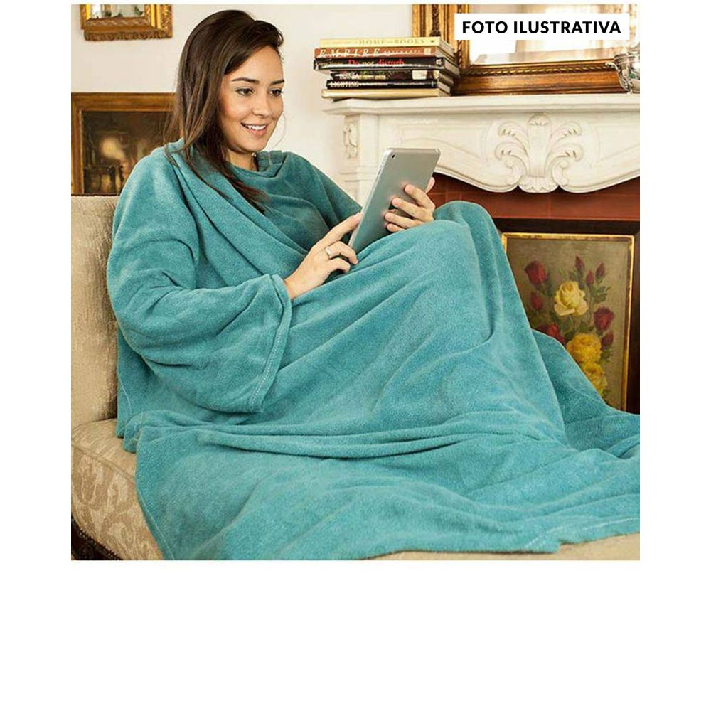 Cobertor-com-Mangas-Mulher-Maravilha-Zona-Criativa