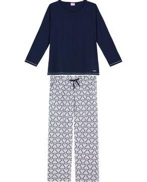 Pijama-Plus-Size-Feminino-Lua-Encantada-Coracoes
