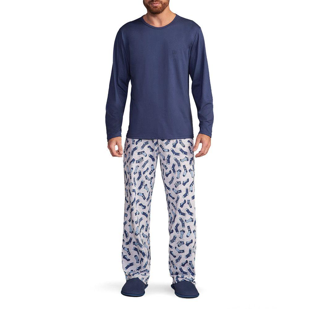 Pijama-Masculino-Lua-Encantada-Algodao-Calca-Meias