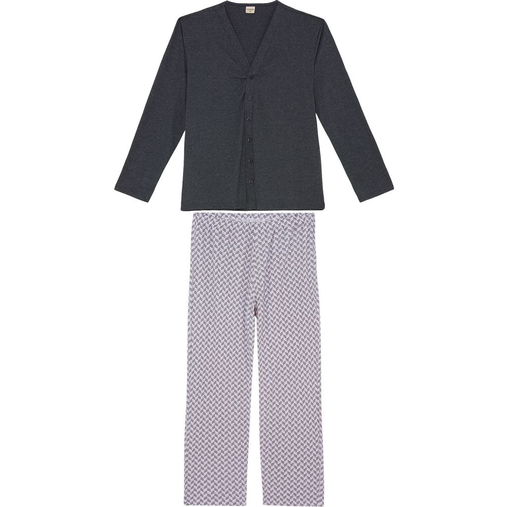 Pijama-Masculino-Lua-Encantada-Aberto-Calca-Algodao