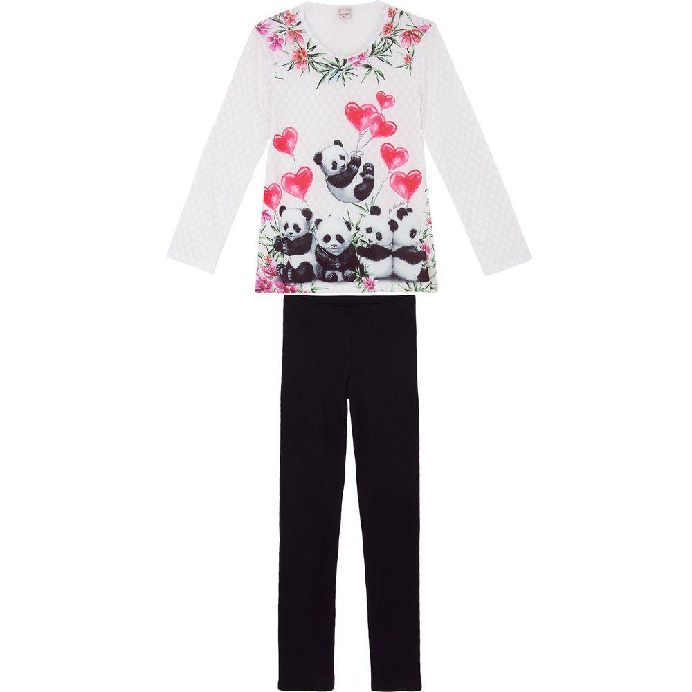 Pijama-Feminino-Lua-Encantada-Calca-Ribana-Panda