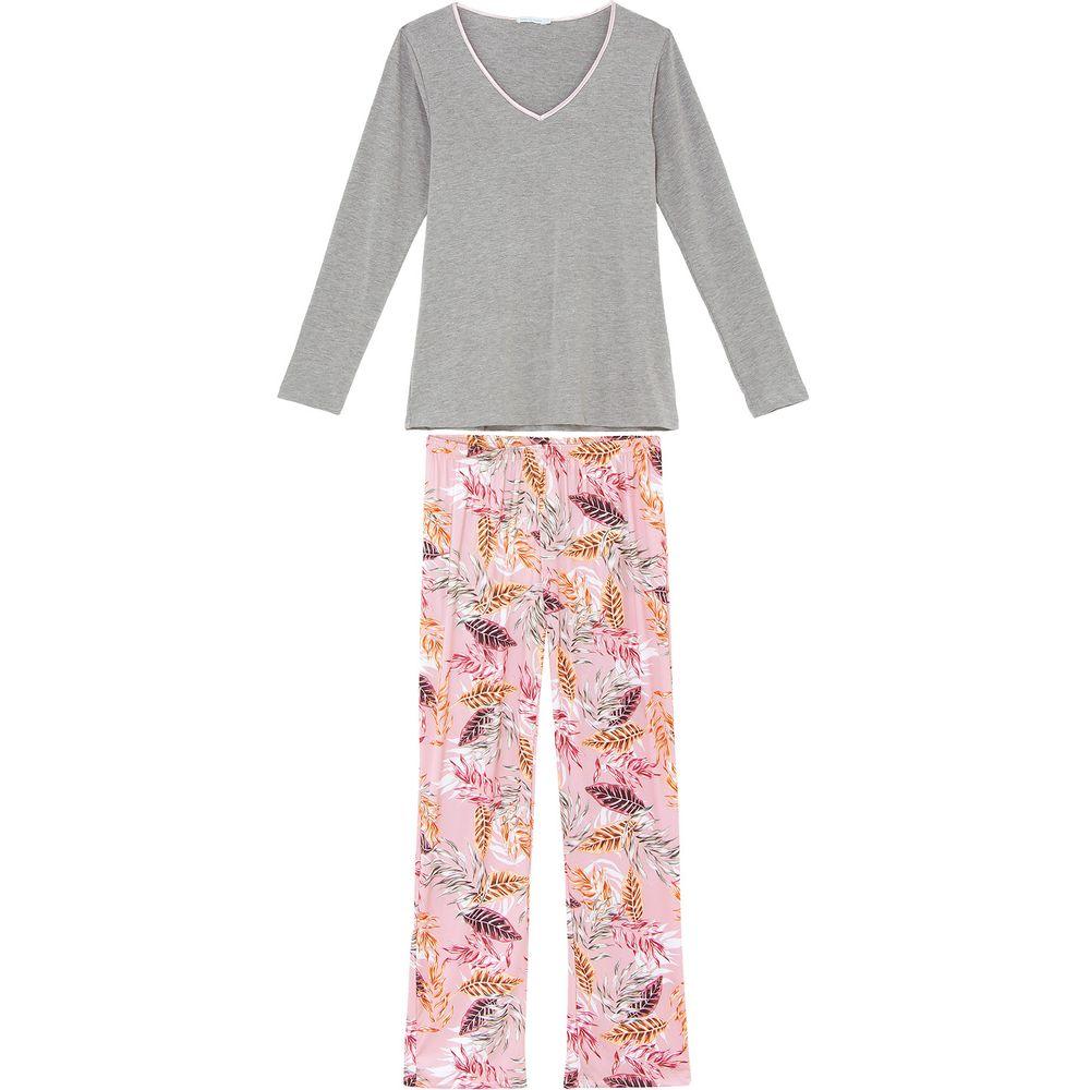 Pijama-Feminino-Daniela-Tombini-Viscolycra-Microfibra-Floral