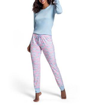 Pijama-Feminino-Recco-Viscolycra-Calca-Nuvens