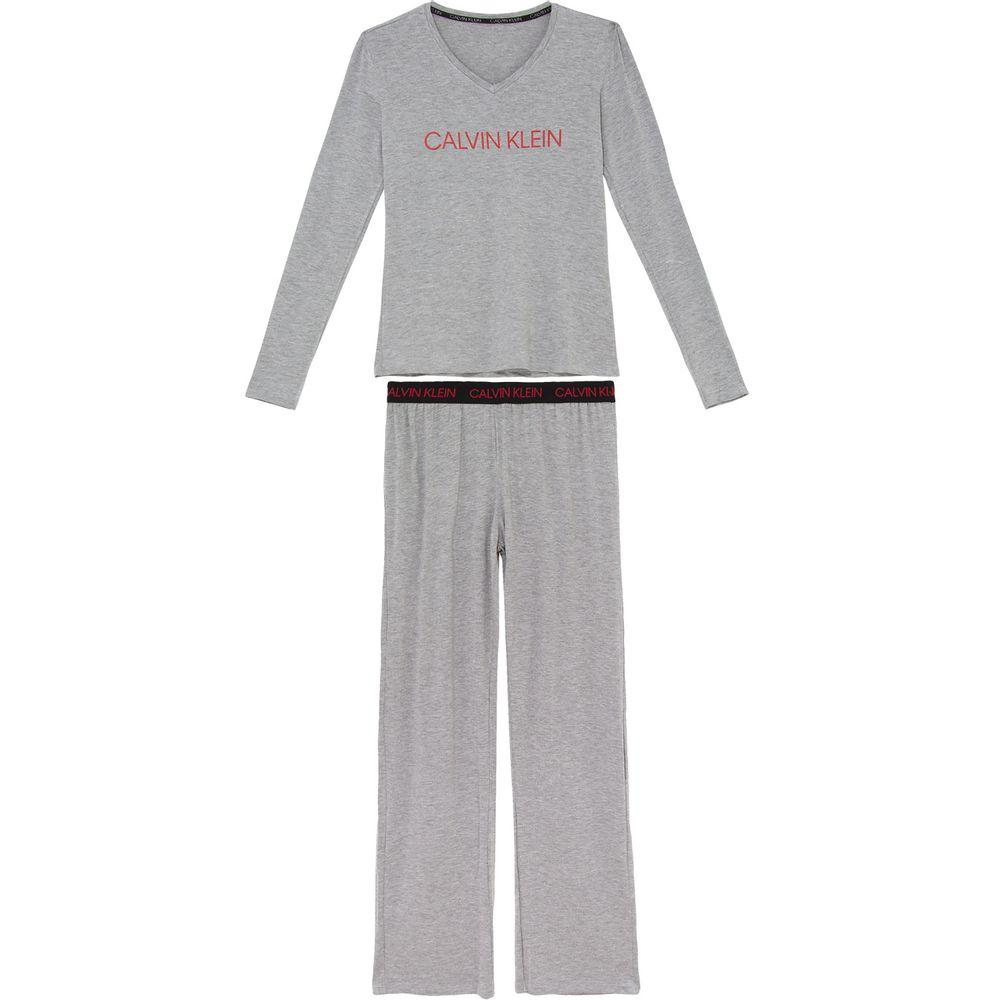Pijama-Feminino-Calvin-Klein-Viscolycra-Calca-Elastico