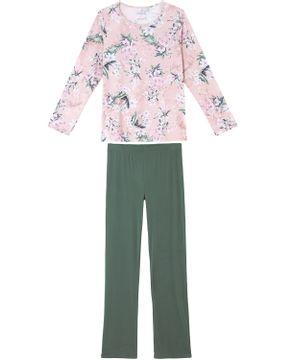 Pijama-Feminino-Daniela-Tombini-Microfibra-Amni-Floral