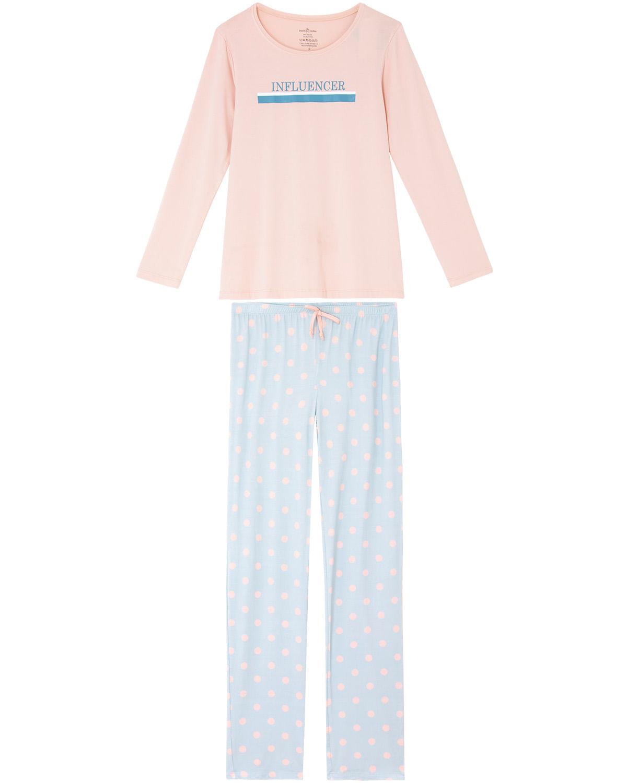 889f991d02aa28 Pijama Feminino Daniela Tombini Viscolycra Influencer | Pijama ...